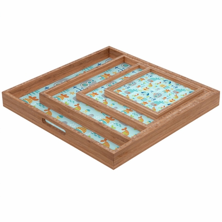 Sealife Square Tray