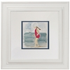 Seashore Girl Art Print