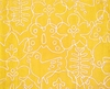 Seasons Rug in White & Canary Yellow