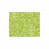 Seasons Rug in White & Lotus Green