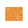 Seasons Rug in White & Persimmon Orange