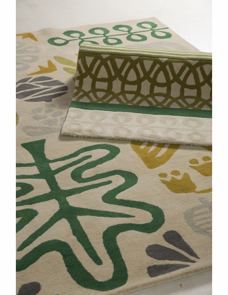 Seasons Scion Rug in Green