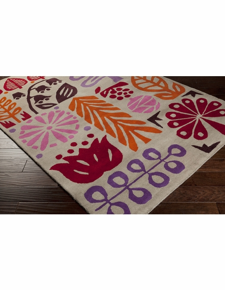 Seasons Scion Rug in Red