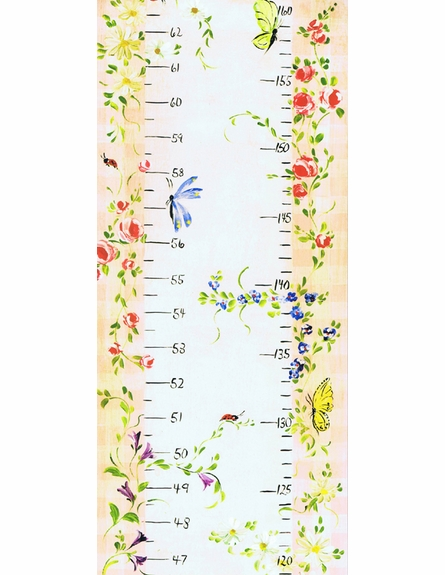 Secret Garden Growth Chart