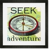 Seek Adventure Framed Art Print