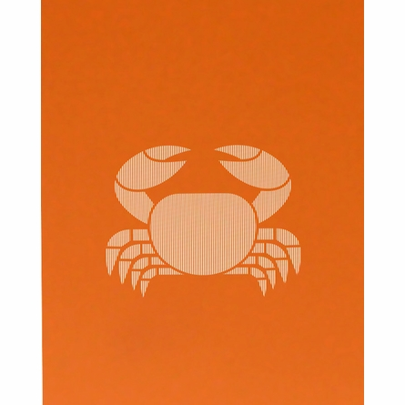 Seersucker Crab Art Print