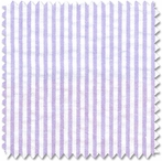 Seersucker Lavender Stripe Doodlefish Fabric by the Yard