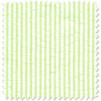 Seersucker Lime Stripe Doodlefish Fabric by the Yard