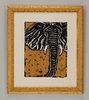 Serengeti Elephant Framed Art