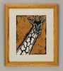 Serengeti Giraffe Framed Art