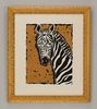 Serengeti Zebra Framed Art