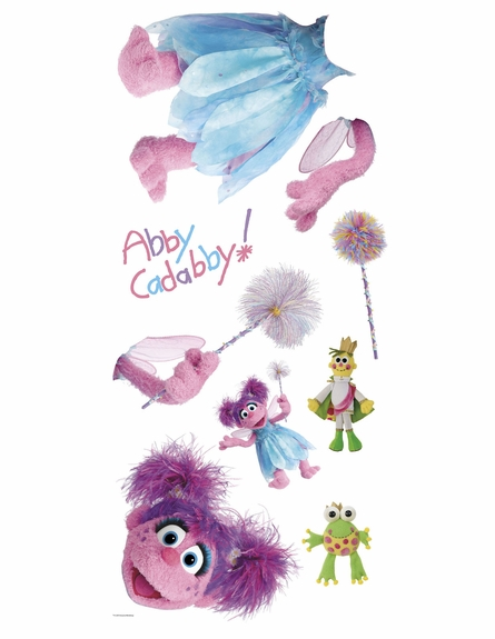 Sesame Street Abby Cadabby Giant Wall Decal