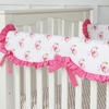 Shabby Chic Crib Rail Cover