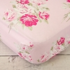 Shabby Chic Roses Crib Sheet