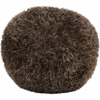 Shag Pouf in Brown