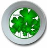 Shamrocks Personalized Melamine Bowl