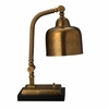 Shanghai Desk Lamp in Antique Brass