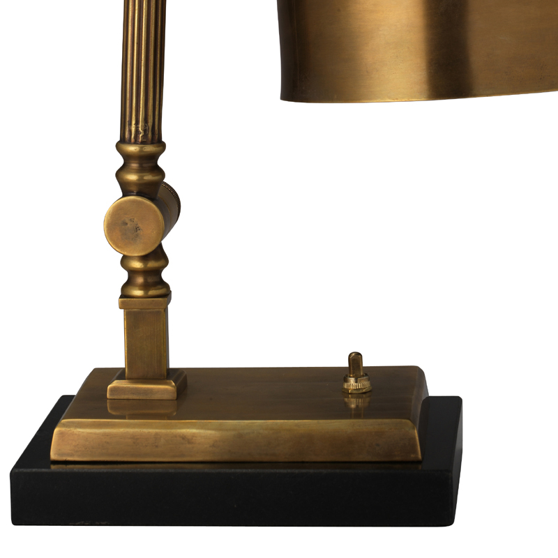 shanghai desk lamp in antique brass by jamie young. Black Bedroom Furniture Sets. Home Design Ideas