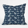 Shark X Ray Throw Pillow