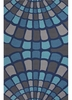 Shellfish Rug in Blue