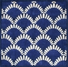 Shells Nouveau Rug in Navy