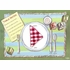 Food and Manners Placemats - Set Of Four
