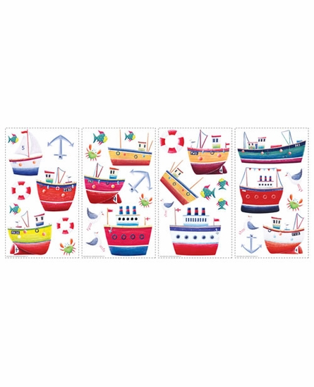 Ship Shape Peel & Stick Applique