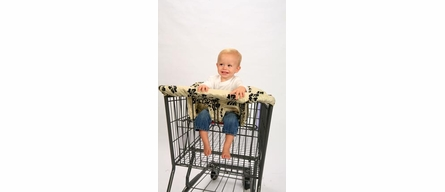 Shopping Cart Cover in Lola
