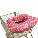 Shopping Cart & High Chair Cover in Modern Damask