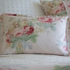 Shore Rose Petal Boudoir Pillow