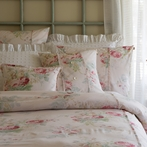 Shore Rose Petal Duvet Cover