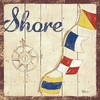 Shore Vintage Canvas Wall Art