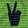 Sign Language Peace Canvas Wall Art