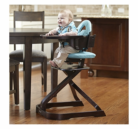 Signet Complete High Chair in Espresso