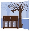 Silhouette Fun for Boys Paint by Number Wall Mural