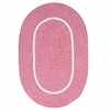 Silhouette Rug in Pink