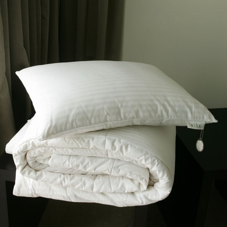 Silk-Filled Pillow