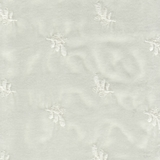 Silk Velvet Emboidered Winter White (73)