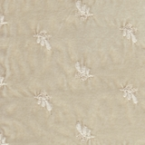 Silk Velvet Embroidered Champagne (02)