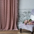 Silk Velvet Embroidered Curtain Panel