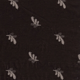Silk Velvet Embroidered Flax (50)