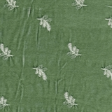 Silk Velvet Embroidered Mint Julep (67)