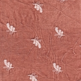 Silk Velvet Embroidered Perfect Peach (61)