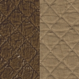 Silk Velvet Quilted Ginger (37)