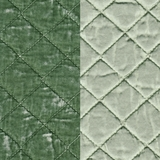 Silk Velvet Quilted Mint Julep (67)