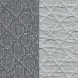 Silk Velvet Quilted Pebble (51)