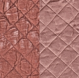 Silk Velvet Quilted Perfect Peach (61)