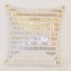 Silver Jewel Throw Pillow