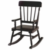 Simply Classic Rocking Chair in Espresso Finish
