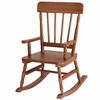 Simply Classic Rocking Chair in Maple Finish